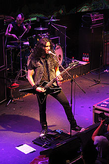Gus G live with Firewind