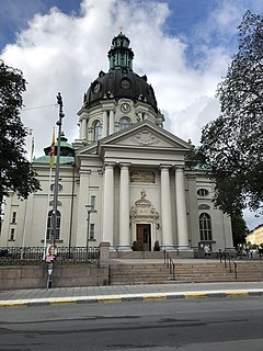 Gustaf Vasa Church Church in Stockholm, Sweden
