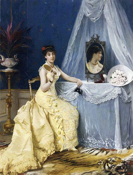 File:Gustave Léonard de Jonghe - À la toilette.jpg