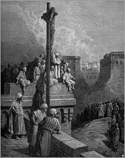 Gustave dore crusades gerard of avesnes exposed on the walls of asur.jpg