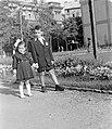 Gyerek páros portré, 1952. Fortepan 7377.jpg