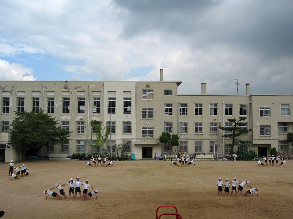 japanese school File:Gym class in Japanese school.jpg