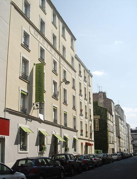 fichier h tel mistral 24 rue cels paris wikip dia. Black Bedroom Furniture Sets. Home Design Ideas