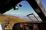 HEBRIDEAN AIR SERVICES FLIGHT 302 BN2B ISLANDER FLIGHT G-HEBO AIRBOURNE FROM ISLAY AIRFIELD FOR A 27 MINUTE FLIGHT TO OBAN WEST SCOTLAND SEP 2013 (9701180047).jpg