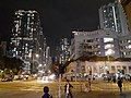 HK SSP 長沙灣道 Cheung Sha Wan Road 貿易廣場 Trade Square nearby night January 2020 SS2.jpg
