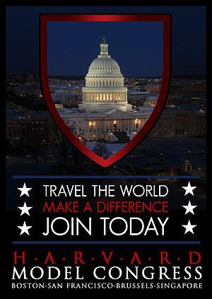 Harvard Model Congress - Image: HMC Poster
