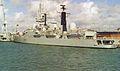 HMS Glasgow (D88) Type 42 destroyer 4,820 tonnes Royal Navy. (11685004764).jpg