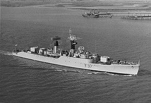 Leopard-class frigate - HMS Jaguar (F37)