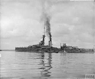 HMS Thunderer (1911) - Image: HMS Thunderer Q 40332