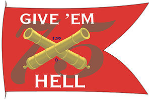 English: Battle flag of USS Harry S. Truman (C...