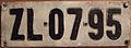 HUNGARY 1958 SERIES -FULL SIZED REAR PLATE - Flickr - woody1778a.jpg