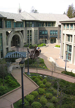 Haas School of Business - Central courtyard