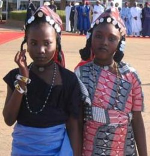 Zarma people - Image: Habillement traditionnelle
