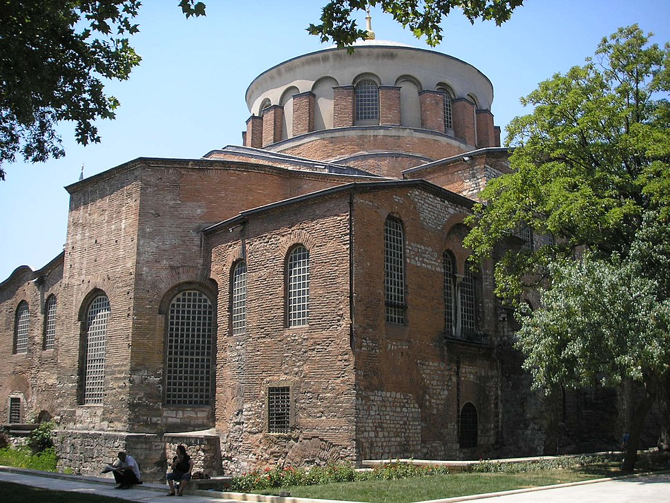 Hagia Eirene Constantinople July 2007 002