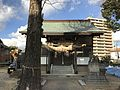 Haiden of Kogarasu Shrine 20170202.jpg