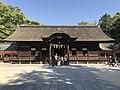 Haiden of Oyamazumi Shrine 2.jpg