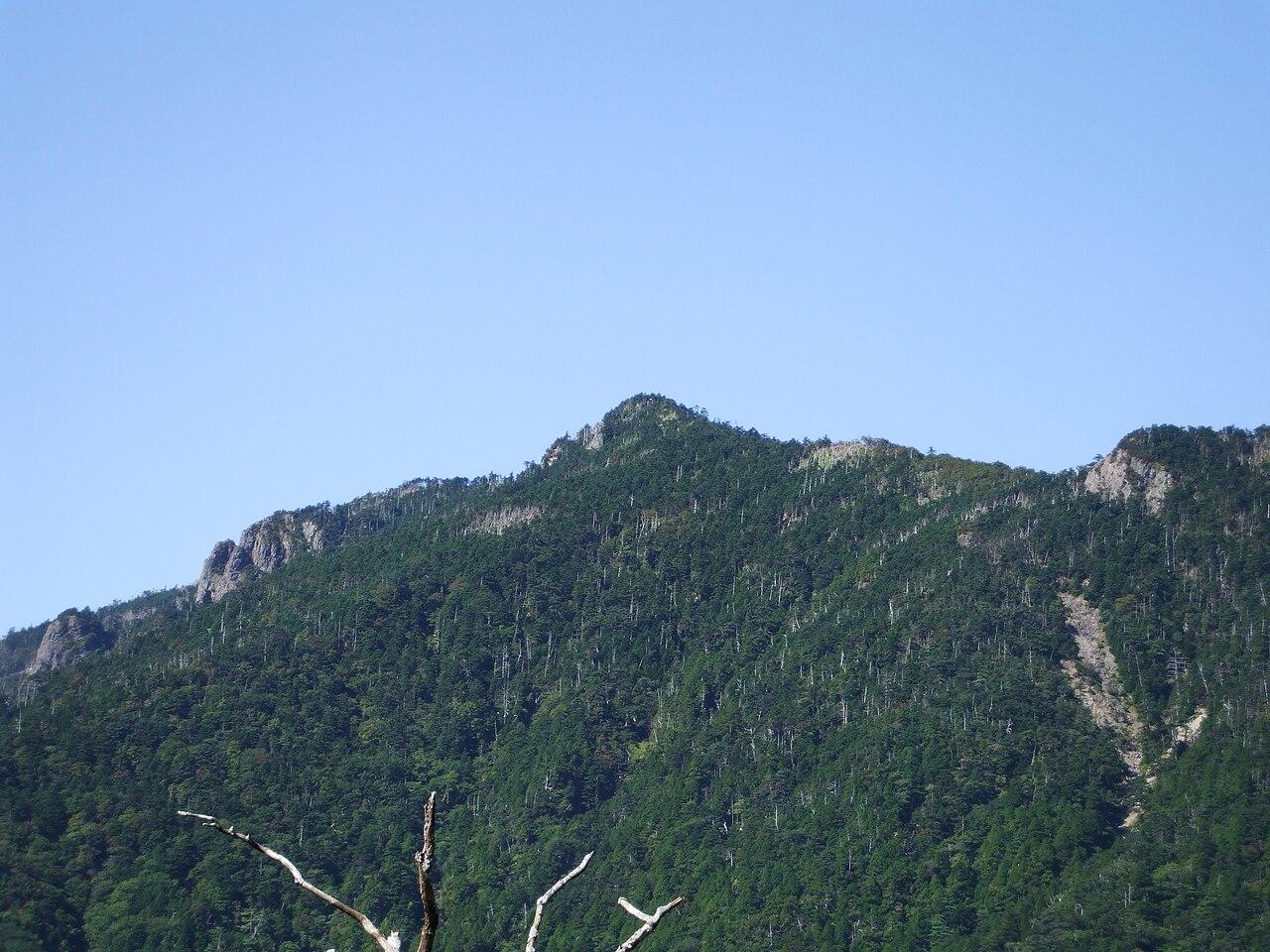 八経ヶ岳(奈良県)