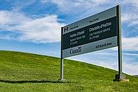Halifax Citadel Sign, National Historic Site, Canada (25562126115).jpg