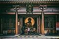 Hall of Guanyin Of The Southern Seas (南海觀音 Nanhai Guanyin) in Baoshan Temple (上海寶山淨寺 or 上海寶山寺) in Shanghai, China.jpg
