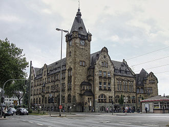 Hamborn - Image: Hamborn Rathaus (Cherry X)