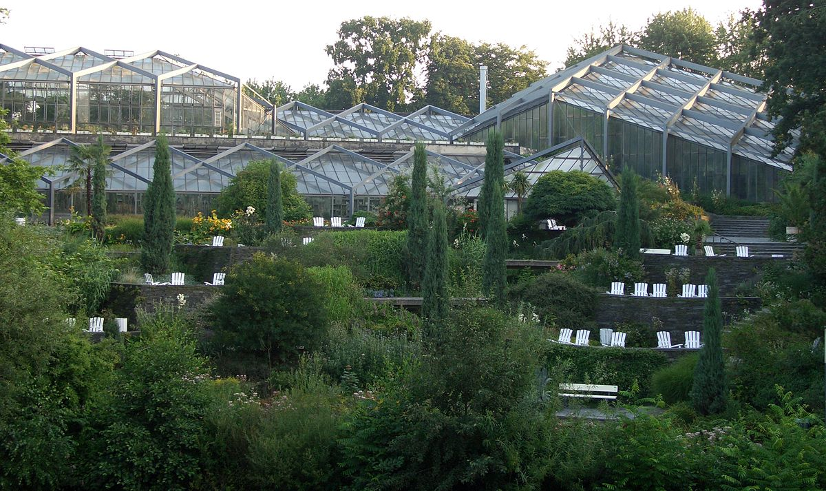 Antiguo jard n bot nico de hamburgo wikipedia la for Caracteristicas de un jardin botanico
