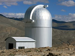 Indian Astronomical Observatory located near leh ladakh , India , has one of the worlds highest sites for optical , infrared, gamma-ray telescopes