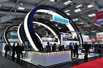 Hannover Messe - Siemens at the 2014 exhibition