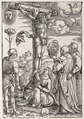 Hans Baldung - Christ on the Cross with Mary, St. John, Mary Magdalen and St. Stephen - 1960.261 - Cleveland Museum of Art.tif