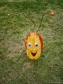 Happy face in the botanic gardens (8068930333).jpg