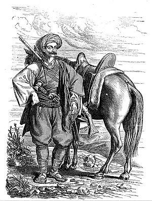 Hajduk - Harambaša from Dalmatia in the 19th century.