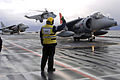 Harriers Leave HMS Ark Royal For Final Time MOD 45152143.jpg