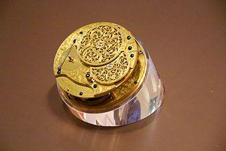 John Harrison - The clockwork in Harrison's H4 watch