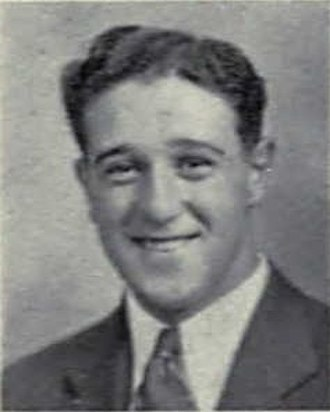 Harry Newman - Newman's senior portrait from 1933 Michiganensian