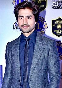 Harshad Chopda Indian actor