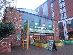 Harvester (restaurant) - Harvester at Brayford Wharf, Lincoln.