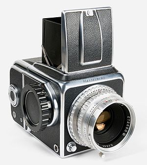 Hasselblad - Hasselblad 1600 F with Kodak Ektar 2,8/80 mm lens.