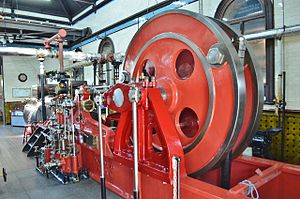 Cambridge Museum of Technology - Hathorn Davey 1894 Pumping Engine