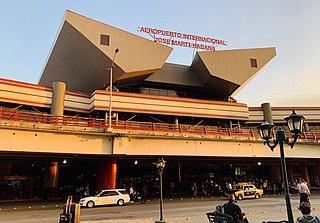 José Martí International Airport Cuban airport serving Havana located in Boyeros
