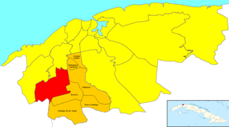 Wajay - Image: Havana Map Wajay (Boyeros)