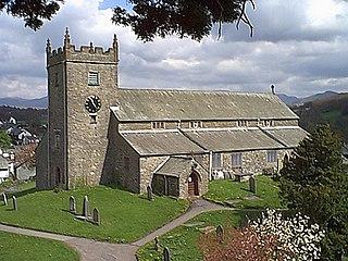 St Michael and All Angels Church, Hawkshead Church in Cumbria, England