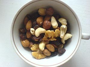 English: Healthy snack