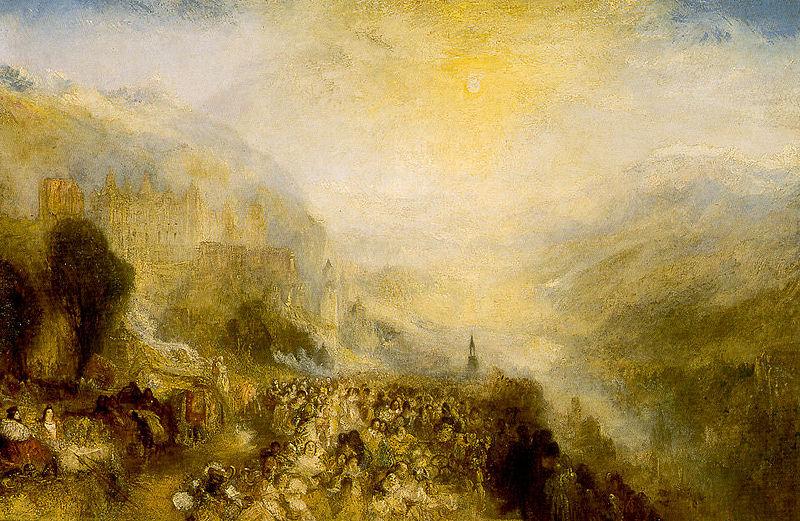 Heidelberger Schloss von William Turner 1844 1845.jpg