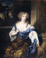 Portrait of Helena Catharina de Witte (1661-95), wife of Iman mogge, lord of Haamstede