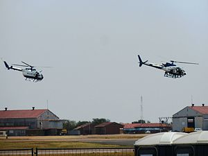 Special Task Force (SAPS) - A Special Task Force demonstration at AFB Waterkloof