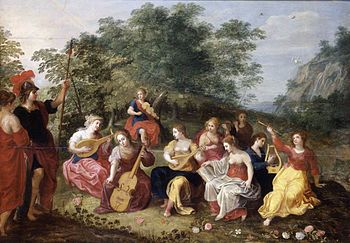 Hendrick van Balen - Minerva and the Nine Muses - WGA1225.jpg