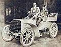 Henri Fournier au départ de Paris-Berlin 1901 (sur Mors).jpg