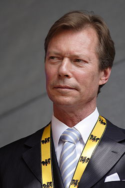 Grand Duke Henri of Luxembourg