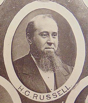 Henry Chamberlain Russell - Image: Henry Chamberlain Russell