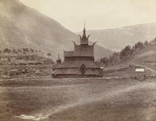 Ancient Wooden Church, Borgund, Norway
