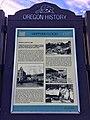 Heppner Oregon History Marker 02.jpg